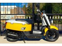 Stunning and rare 2012 Yamaha scooter Immaculate condition (only 4000 miles) UK DELIVERY AVAILABLE