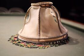 Antique lampshades from Victorian Villa