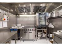 Commercial Kitchen Space Available Immediately, Centre of Old Town Edinburgh, Dark Kitchen