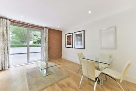 A spacious two bedroom apartment is located on the second floor of Warehouse Court