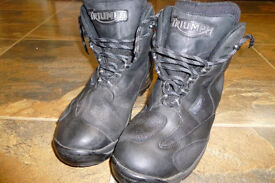 MOTORCYCLE BOOTS MENS AND LADIES