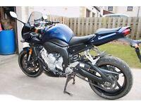 2006 Yamaha Fazer FZ1 - 12 months MOT -