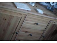 Wooden Sideboard (Hemnes, IKEA)