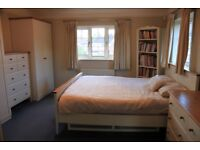 Spacious Furnished Double Bedroom & Elegant Ensuite in New Malden House Share