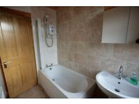 Delightful 3 bedroom upper villa recently refurbished with garden and driveway .Available April