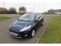FORD FIESTA 1.6 ZETEC ECONETIC TDCI,2012,Alloys,Air Con,Privacy Glass,Bluetooth,68mpg,Full History