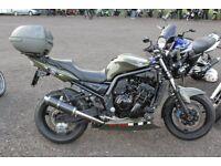 Army Green Yamaha Fazer 1000 Swap P/X