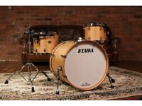 Tama Starclassic Birch | Natural Finish | 12, 14 & 22 Shell Pack | YAMAHA | PEARL | GRETSCH