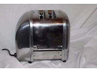 Boxed 2-slot Dualit Vario/Classic toaster. As new.