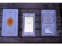 iPhone SE 16GB Gold AS NEW NEVERLOCKED FACTORY UNLOCKED