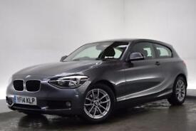 BMW 1 SERIES 1.6 116D EFFICIENTDYNAMICS 3d 114 BHP (grey) 2014