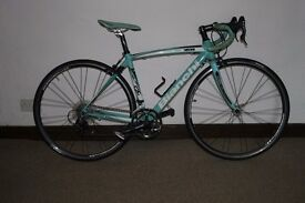 Bianchi Via narone Road, immaculate condition Size 50 CM.