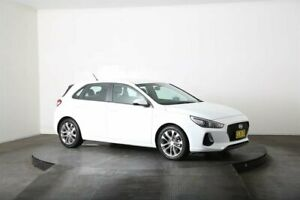 2019 Hyundai i30 PD MY19 Go White 6 Speed Automatic Hatchback McGraths Hill Hawkesbury Area Preview