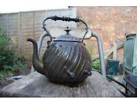 Vintage copper kettle