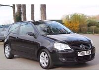 Volkswagen Polo 1.6 Sport 3dr SAME LADY OWNER SINCE 2009