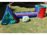 Kids ELC pop up tent combo and playballs