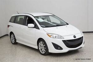 2012 Mazda MAZDA5 Grand Touring, PERFECT 6 PASSAGER !