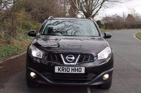 Nissan Qashqai Tekna 1.5dci Nightshade Black, Cream Leather Upholstery, SatNav, rear Camera, 2 Fobs