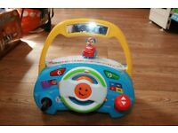 Fisher Price Laugh & Learn Puppy's Smart Stages Driver