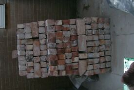Salvaged/Recycled Bricks (1950's)........550 full size plus other sizes.
