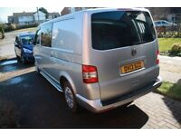 Our special family VW Transporter (6 seats - T32). Cruise control, sidebars, storage pods in doors
