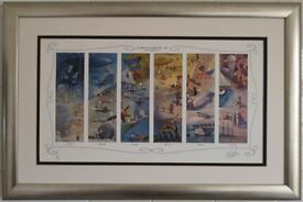 "Framed ""The Millennium of Flight"" 1000-1939 and 1940-2000"