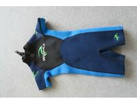 Childs wet suit (aged 3-4yrs)