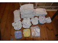 Large Stack of Bambino Mio Reusable Nappies - used, reasonable/good condition