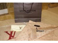 Luxury Louis Vuitton gold colour Scarf /Shawl – brand new