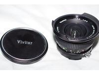 Vivitar Super wide Full frame 17mm lens for mirrorless