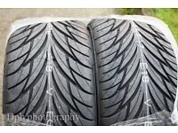 2 NEW federal tyres 235-45-17