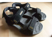 Size 2 black sandals