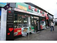 1. Hot Food Takeaway, Cafe, Restaurant, 20 Year Lease, £1500 pcm, offers over £60k goodwill, Glasgow