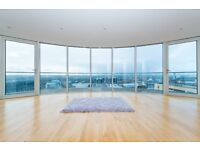 3 BED 2 BATH LUXURY APARTMENT IN MILLHARBOUR CANARY WHARF E14 AVAILABLE NOW, WRAP AROUND BALCONY