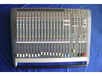 Allen & Heath PA20 Mixer with fitted Flight Case Used but in Very Good Condition