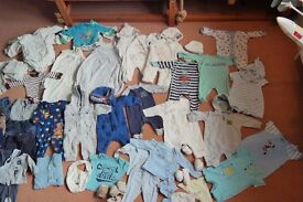 Baby Boy Bundle over 100 items 0-3month mostly NEXT