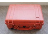 Orange Pelican Cases - model 1520. Good condition, lifetime warranty!