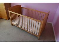 Milano Cot Bed with mattress