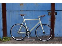 Special Offer !!! Steel Frame Single speed road TRACK bike fixed gear racing fixie bicycle 150