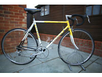 Raleigh Ritmo Reynolds 531 tubing Vintage Road Racer - 54cm - Fully Serviced - 2 x 7 speed