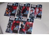 "5x STAR WARS Rogue One 3.75"" figures inc K-2SO / CHIRRUT IMWE / DARTH VADER / STORMTROOPER - New"