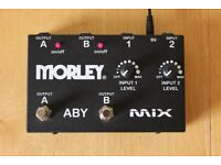 Morley ABY Mix (Guitar/Bass Splitter and Mixer)