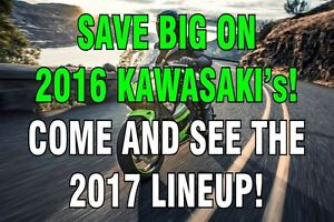2017 kawasaki Autre Save up to $3995 on a 2016 model still in st