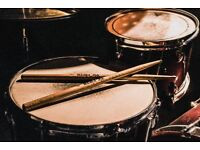 Drummer available for recordings and gigs