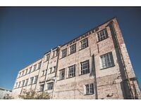 Spacious studio / office / workshops available in Hackney Wick warehouse conversion