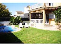 Wonderful 5 bed Villa with pool in Vinaros Costa Azahar Spain