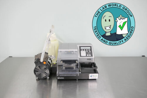 Biotek 405LS Microplate Washer with Warranty SEE VIDEO