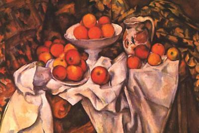 - Cezanne Apples and Oranges - Poster 24x36 inch