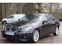 BMW 5 SERIES 2.0 520d SE 4dr FULL LEATHER , SATNAV, AUTO