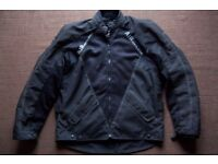 Rayven Mens Airvented Armoured Motorcycle Jacket XL